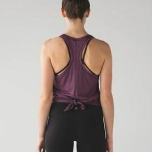 Lululemon tie it up singlet